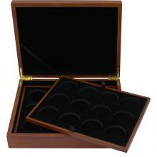 Dřevěná krabička pro 36 x 1 Oz Ag mince Maple Leaf