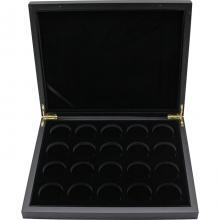 Černá krabička pro 20 x 1 Oz Ag mince Slon africký Somálsko