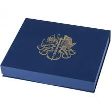 Modrá krabička pro 40 x 1 Oz Ag mince Wiener Philharmoniker