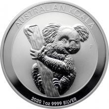 Stříbrná investiční mince Koala 1 Oz 2020