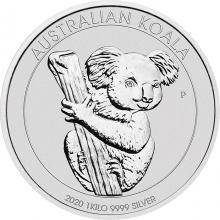 Stříbrná investiční mince Koala 1Kg 2020