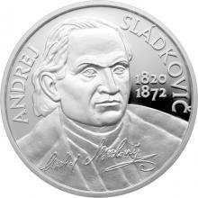Stříbrná mince Andrej Sládkovič - 200. výročí narození 2020 Proof
