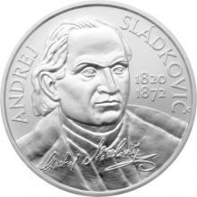 Stříbrná mince Andrej Sládkovič - 200. výročí narození 2020 Standard
