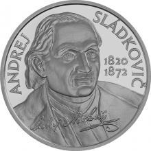 Strieborná minca Andrej Sládkovič - 200. výročie narodenia 2020 Standard