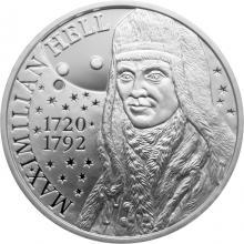 Stříbrná mince Maximilián Hell - 300. výročí narození 2020 Proof