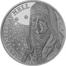 Strieborná minca Maximilián Hell - 300. výročie narodenia 2020 Standard