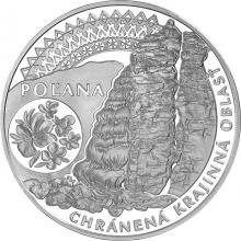 Stříbrná mince Chráněná krajinná oblast Poľana 2020 Proof