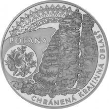 Stříbrná mince Chráněná krajinná oblast Poľana 2020 Standard