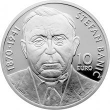 Stříbrná mince Štefan Banič - 150. výročí narození 2020 Proof