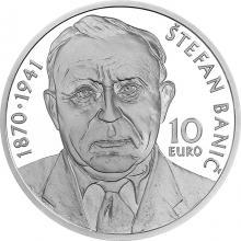Strieborná minca Štefan Banič - 150. výročie narodenia 2020 Proof