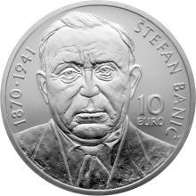 Stříbrná mince Štefan Banič - 150. výročí narození 2020 Standard