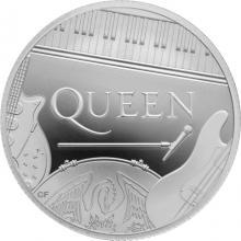 Stříbrná mince Hudební legendy - Queen 1/2 Oz 2020 Proof