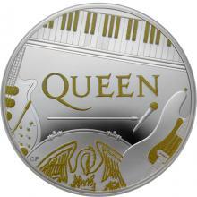 Stříbrná mince Hudební legendy - Queen 1 Oz 2020 Proof