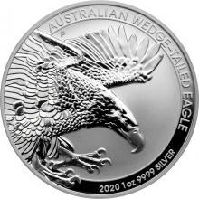 Stříbrná investiční mince Orel klínoocasý 1 Oz 2020