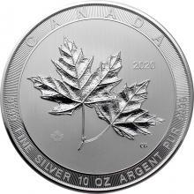 Stříbrná investiční mince Magnificent Maple Leaf 10 Oz 2020