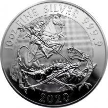 Stříbrná investiční mince Valiant 10 Oz 2020