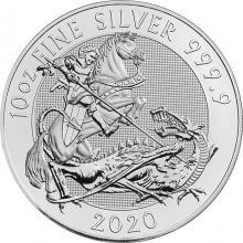 Strieborná investičná minca Valiant 10 Oz 2020