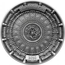 Stříbrná mince Zakázané město 2020 Antique Standard