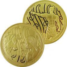 Maui and the First Dog Maori Art Sada zlatých mincí 2020 Proof