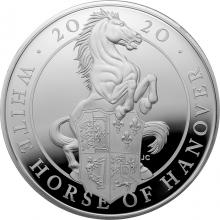 Stříbrná mince 10 Oz White Horse of Hanover 2020 Proof