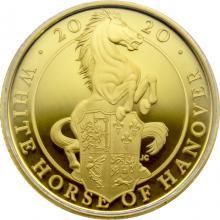 Zlatá mince White Horse of Hanover 1/4 Oz 2020 Proof