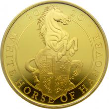 Zlatá minca White Horse of Hanover 1 Oz 2020 Proof