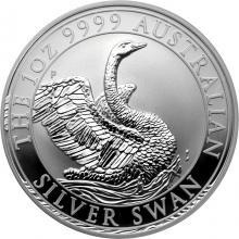Stříbrná investiční mince Australian Swan 1 Oz 2020