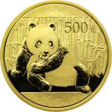 Zlatá investiční mince Panda 1 Oz 2015