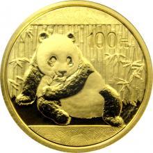 Zlatá investiční mince Panda 1/4 Oz 2015
