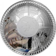 Stříbrá mince Mayflower - 400. výročí 2020 Proof