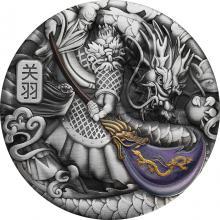 Stříbrná mince 5 Oz Kuan Jü 2020 Antique Standard