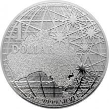 Stříbrná investiční mince Beneath the Southern Skies 1 Oz 2020