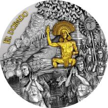 Stříbrná mince El Dorado 2 Oz 2020 Antique Standard