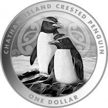 Stříbrná investiční mince Tučňák chocholatý 1 Oz 2020