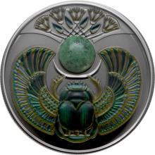 Stříbrná mince Skarabeus Jaspis 2020 Proof