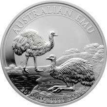 Stříbrná investiční mince Emu 1 Oz 2020
