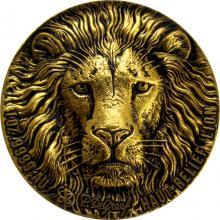 Zlatá minca Lev The African Big Five High Relief 1 Oz 2020 Antique Standard