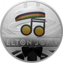Stříbrná mince Hudební legendy - Elton John 1 Oz 2020 Proof