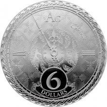 Stříbrná mince Chronos Tokelau 1 Oz 2020