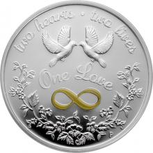 Stříbrná mince One Love 1 Oz 2020 Proof