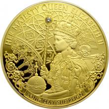 Zlatá minca Long May She Reign 1 Oz 2020 Proof