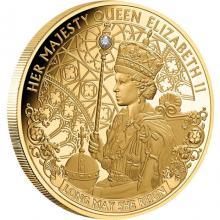 Zlatá mince Long May She Reign 1 Oz 2020 Proof