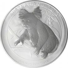 Stříbrná investiční mince Koala 1Kg 2018