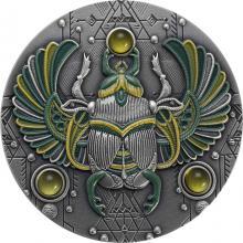 Stříbrná mince Skarabeus Jantar 2 Oz 2020 Antique Standard