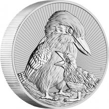 Stříbrná investiční mince Next Generation - Ledňáček 2 Oz 2020 Piedfort