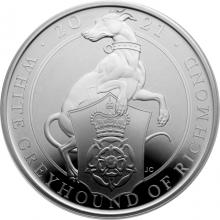 Stříbrná mince White Greyhound of Richmond 1 Oz 2021 Proof
