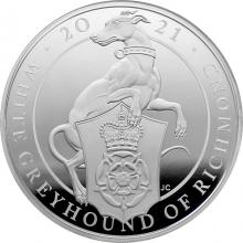 Stříbrná mince 10 Oz White Greyhound of Richmond 2021 Proof