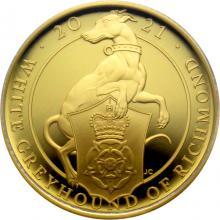 Zlatá mince White Greyhound of Richmond 1/4 Oz 2021 Proof