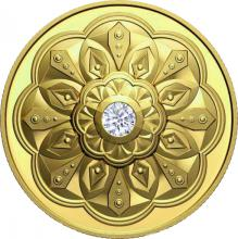 Zlatá mince Kanadský diamant Ultra high relief 2020 Proof