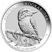 Strieborná investičná minca Kookaburra Rybárik 1 Oz 2021